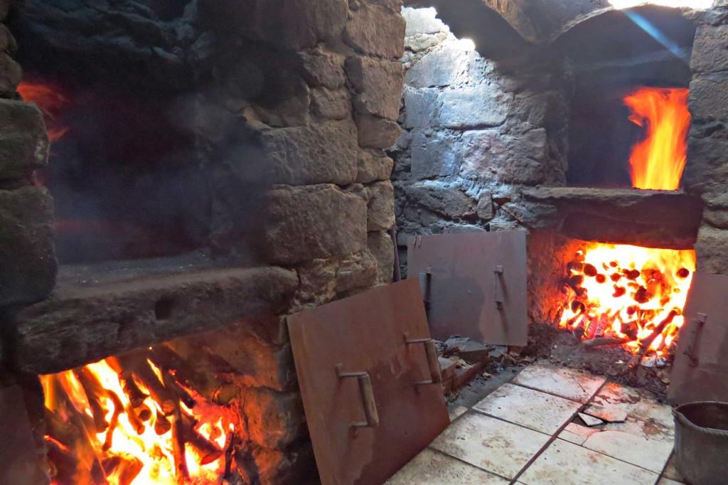 Nos fours à bois en pierre